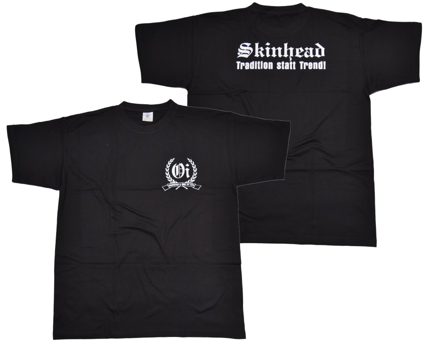 T shirt skinhead tradition k12 g23 skinhead shop t for Kleiner schrank weiay