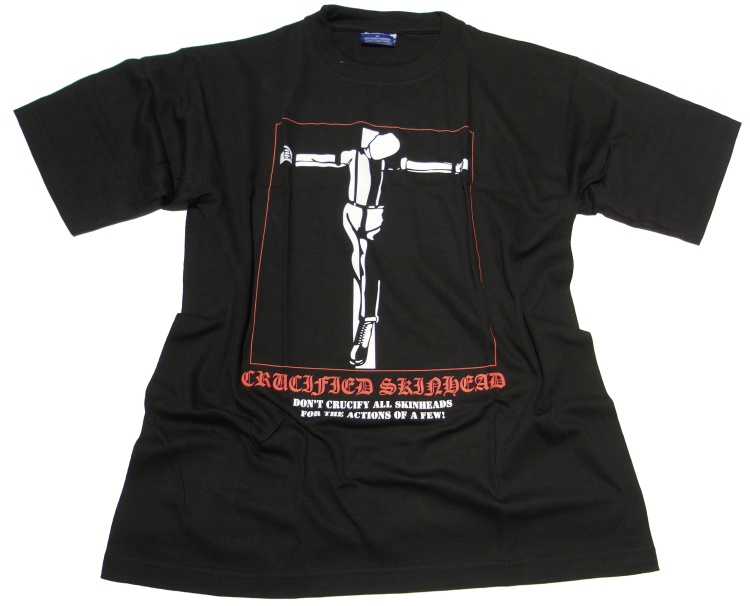 T-Shirt Dont Crucified Skinhead