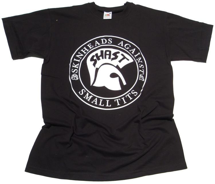 T-Shirt SHAST Skinheads against small Tits