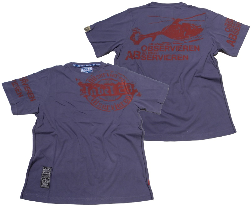 Boxing Connection/Label 23 T-Shirt Observieren