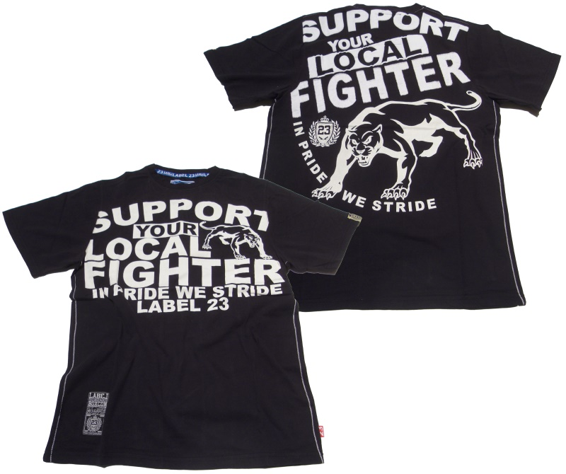 Boxing Connection/Label 23 T-Shirt Support