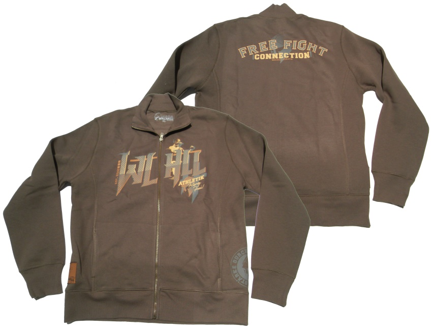 Walhall Athletik Sweatjacke Ring Frei!