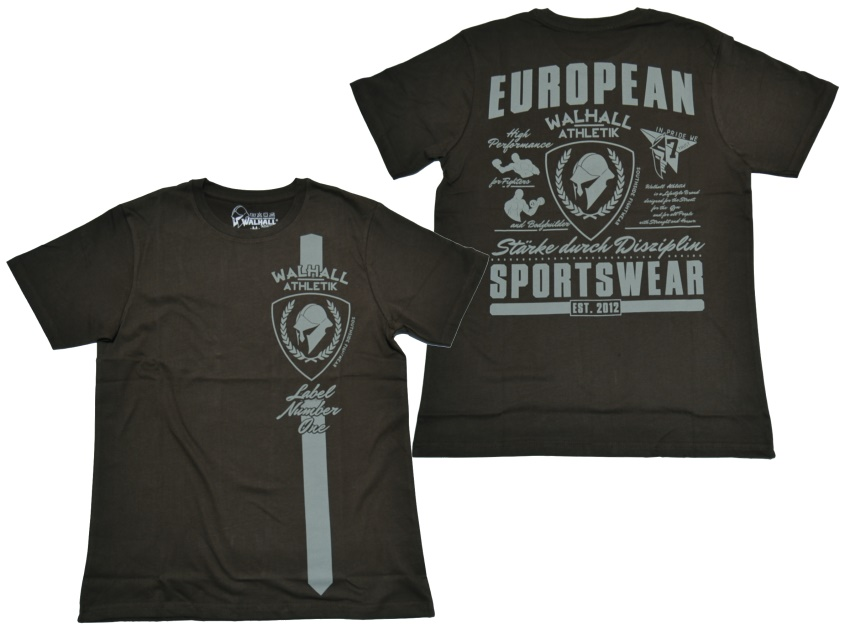 Walhall Athletik T-Shirt European Sportswear
