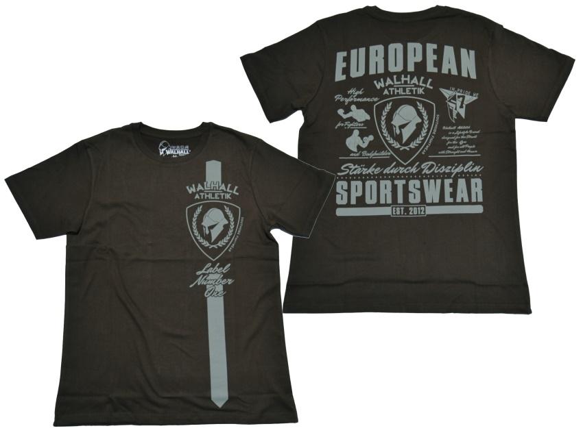 Walhall Athletik T-Shirt European Sportswear