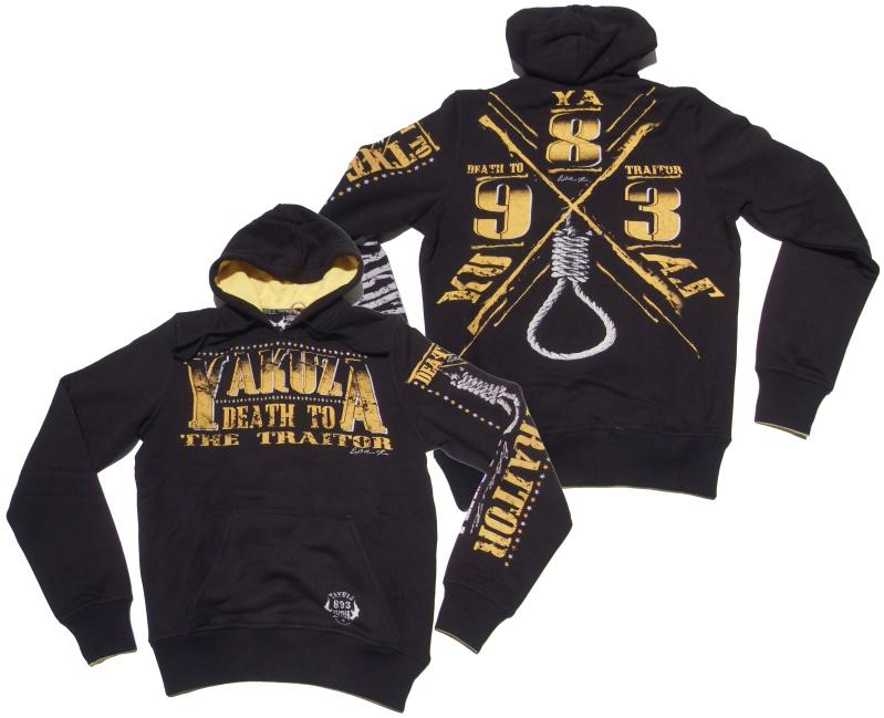 Yakuza Kapuzensweatshirt Death To The Traitor