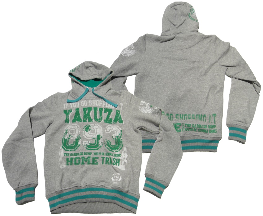 Yakuza Kapuzensweatshirt If You Go Shopping...