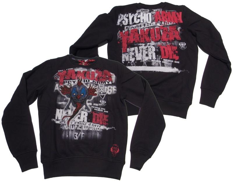 Yakuza Sweatshirt Psycho Army