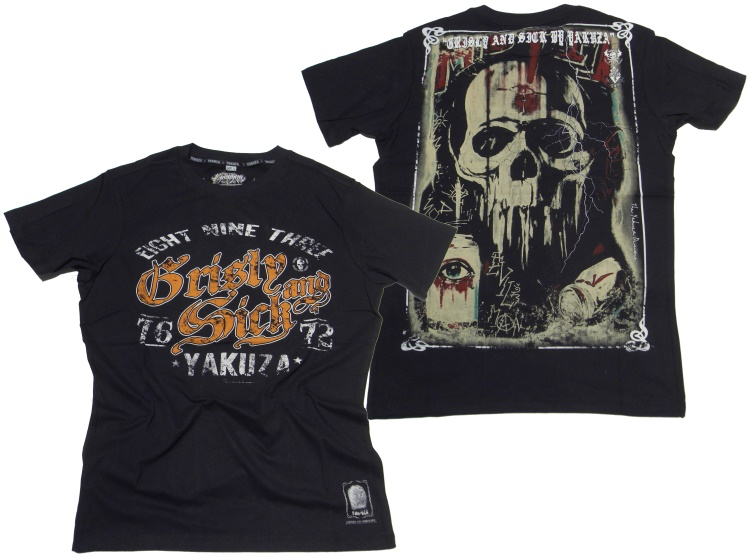 Yakuza T-Shirt Grisly And Sick II