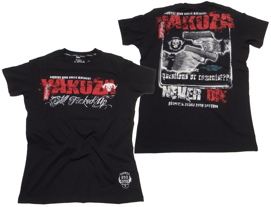 Yakuza T-Shirt Still Fucked Up