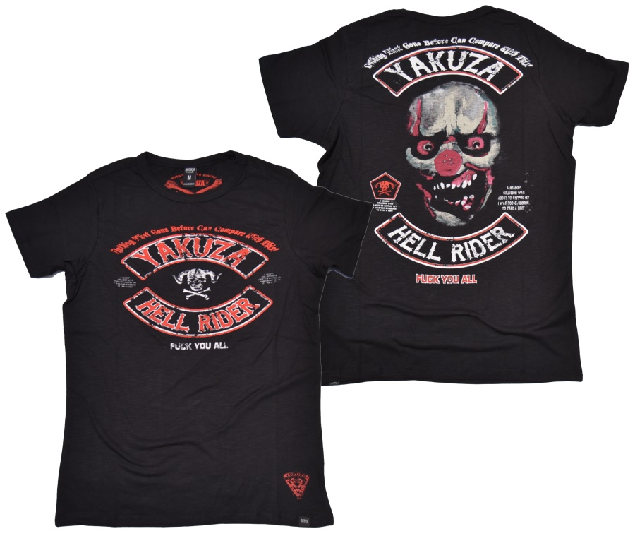 Yakuza Ink T-Shirt Hell Rider