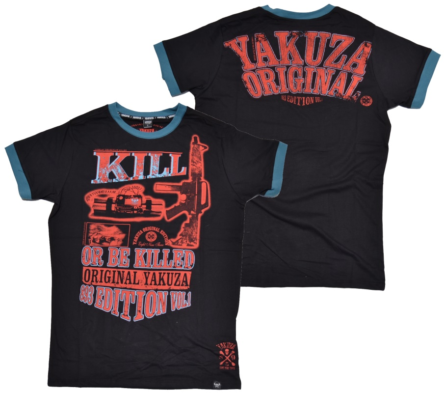 Yakuza T-Shirt Kill Or Be Killed