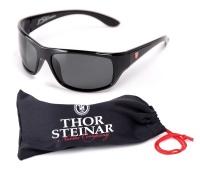 Thor Steinar Sonnenbrille Geilo II schwarz/rotes Logo