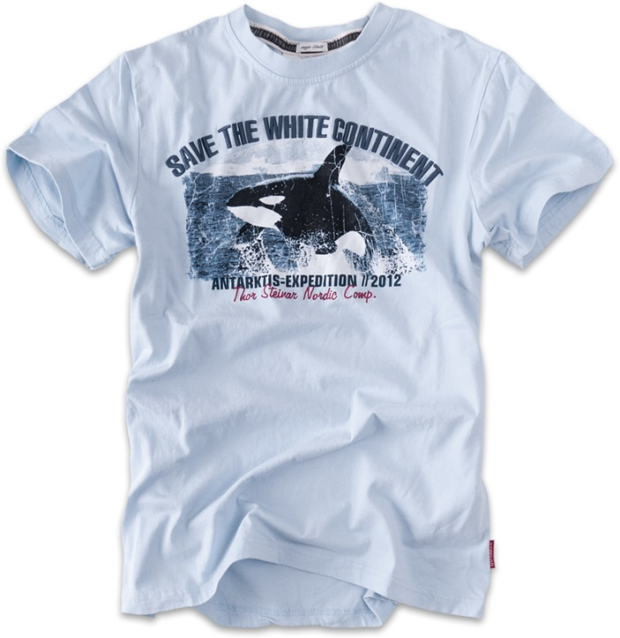 Thor Steinar T-Shirt White Continent