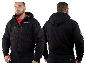 Ansgar Aryan Jacke Black Cross