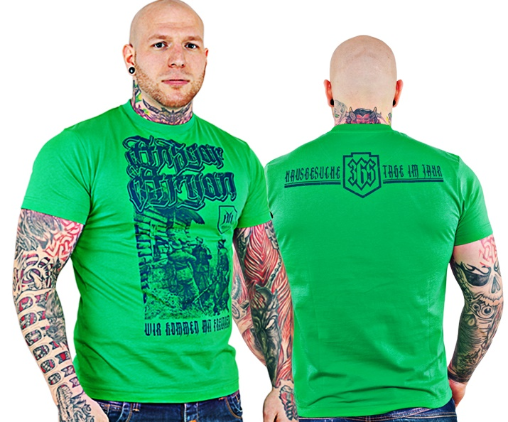 Ansgar Aryan T-Shirt Hausbesuche