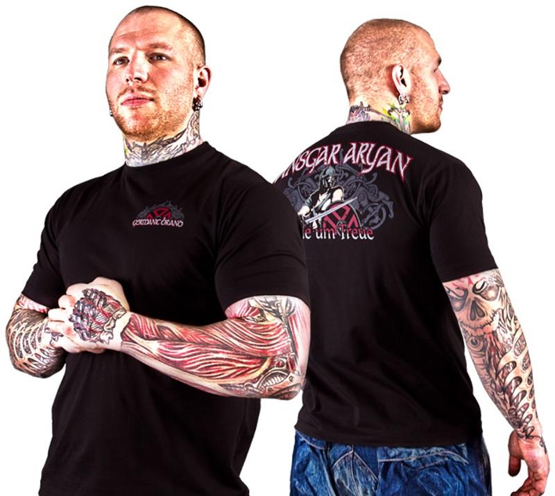 Ansgar Aryan T-Shirt Treue um Treue