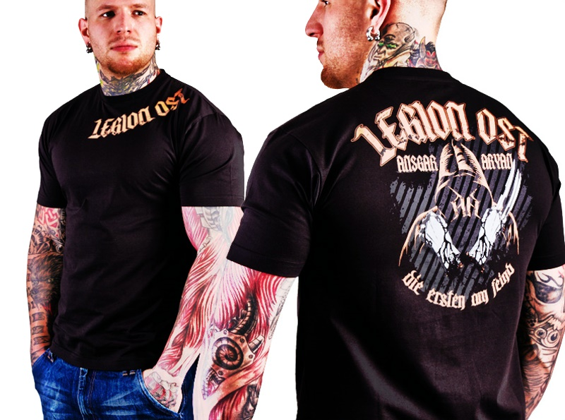Ansgar Aryan T-Shirt Legion Ost