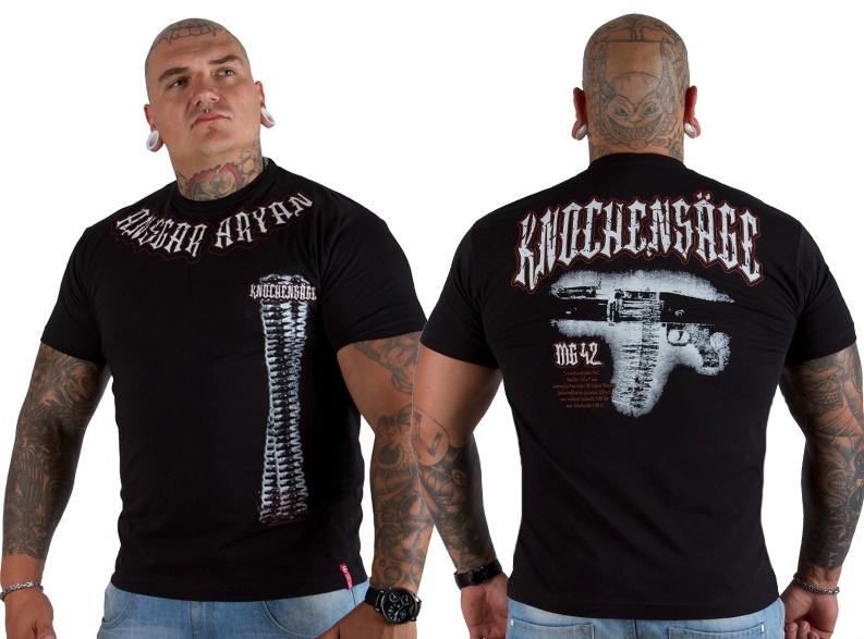 Ansgar Aryan T-Shirt MG 42