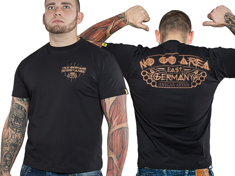 Ansgar Aryan T-Shirt No Go Area