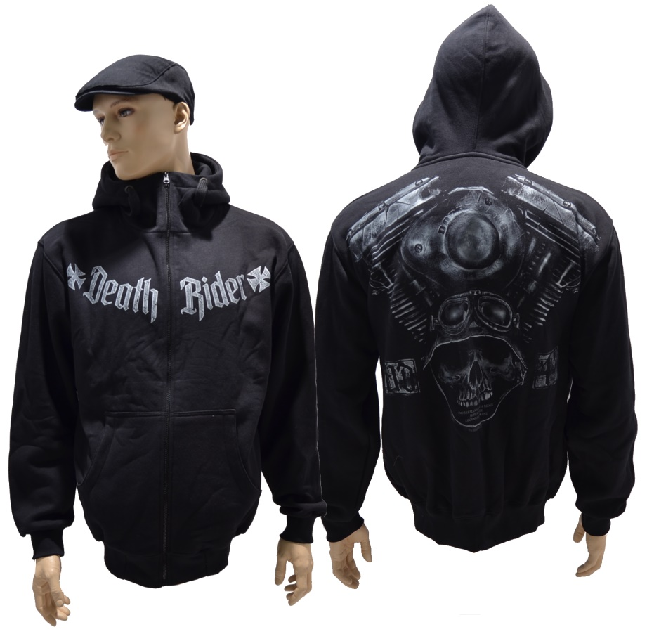 Dobermans Aggressive Kapuzenjacke Death Rider IV