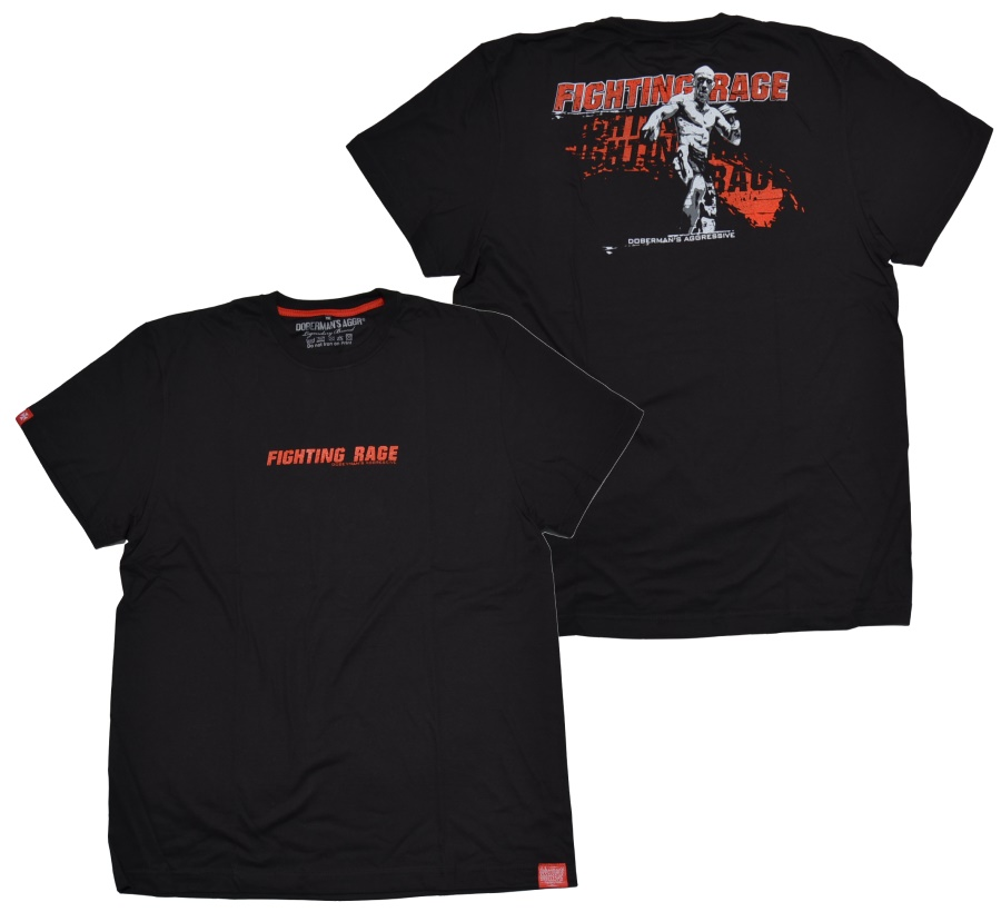 Dobermans Aggressive T-Shirt Fighting Rage 2