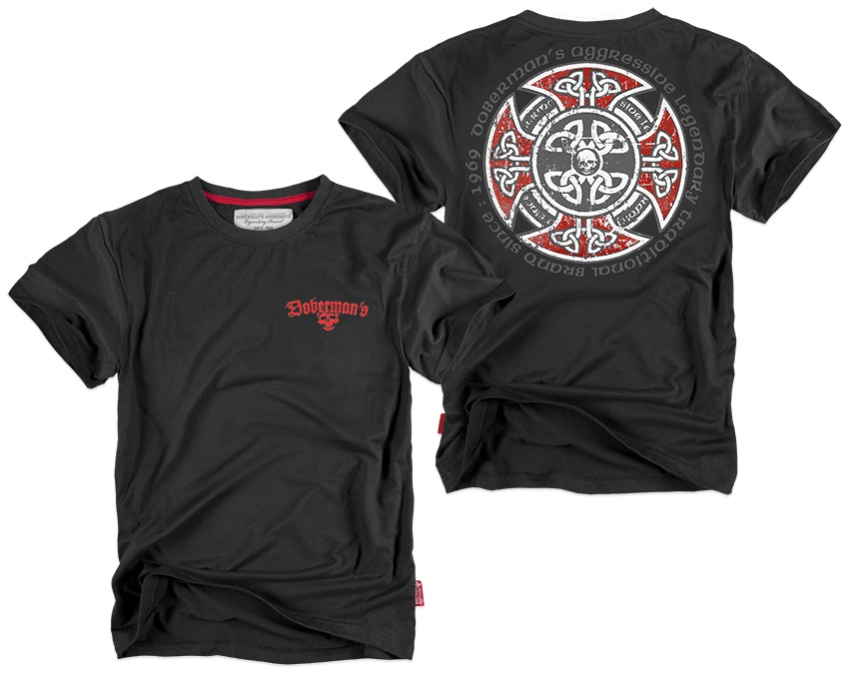 Dobermans Aggressive T-Shirt Cross