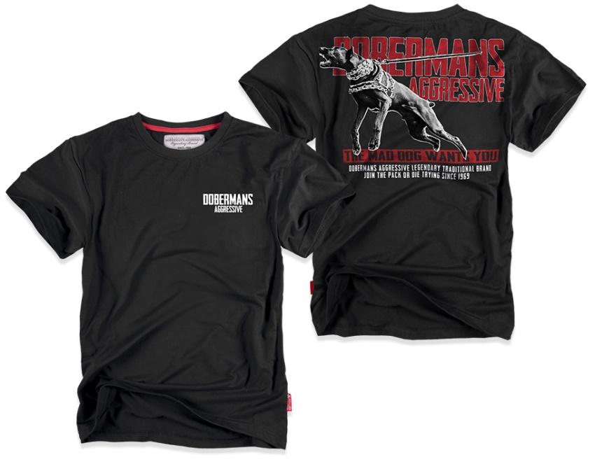 Dobermans Aggressive T-Shirt Dobermans