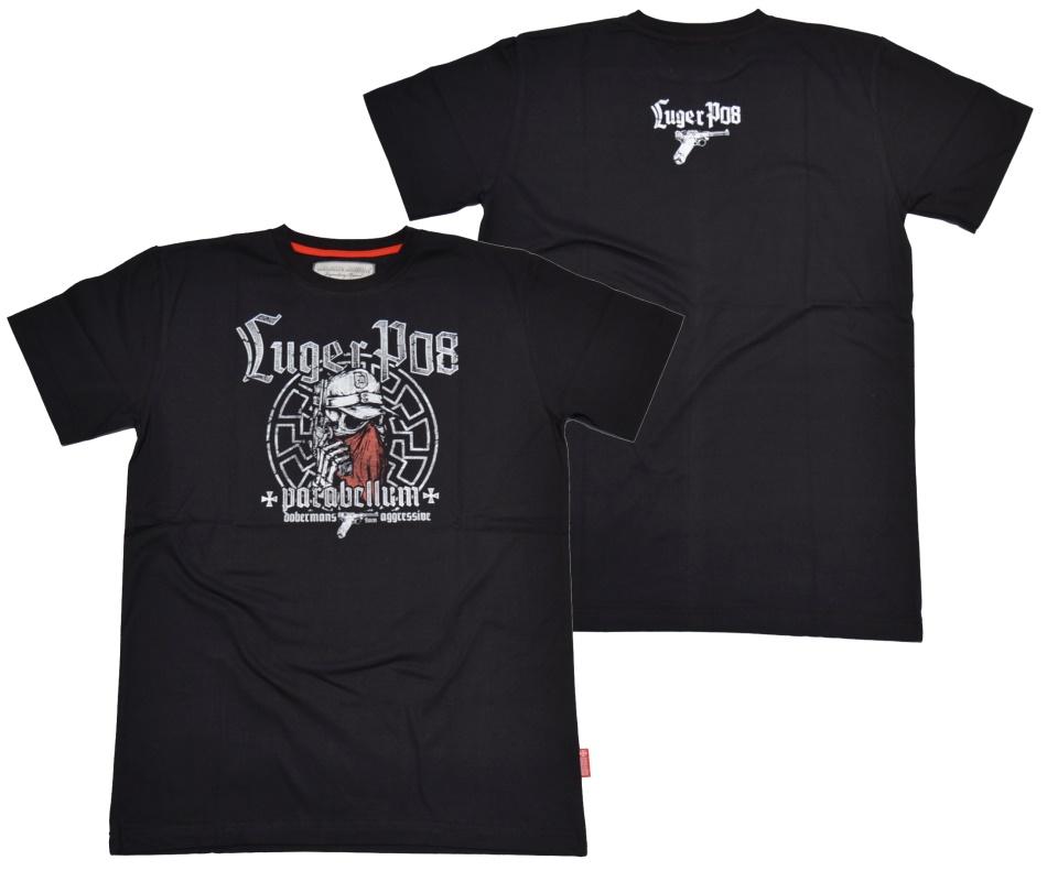 Dobermans Aggressive T-Shirt Luger P08