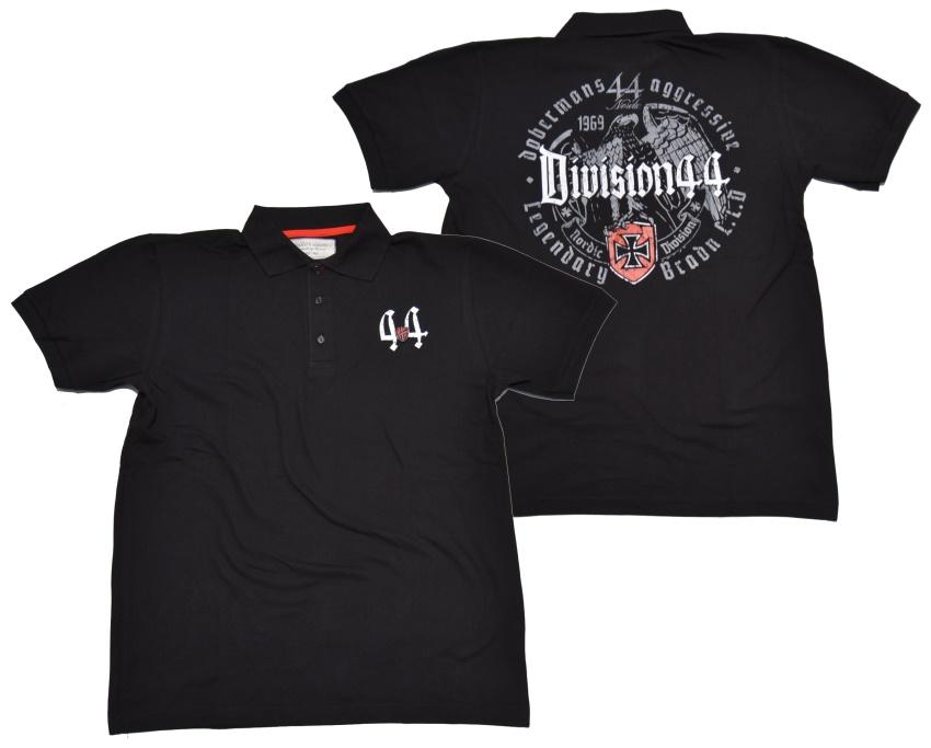 Dobermans Aggressive Polo-Shirt Division 44