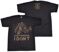 T-Shirt God forgives