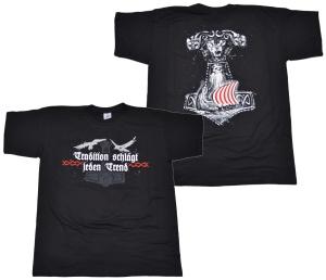 Viking Motiv T-Shirt Tradition schlägt jeden Trend