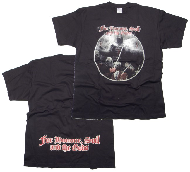 T-Shirt For Honour, Soil and the Gods