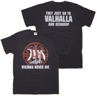 T-Shirt Viking never die
