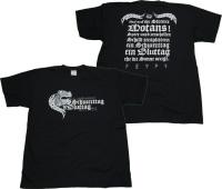 T-Shirt Schwerttag ist Bluttag