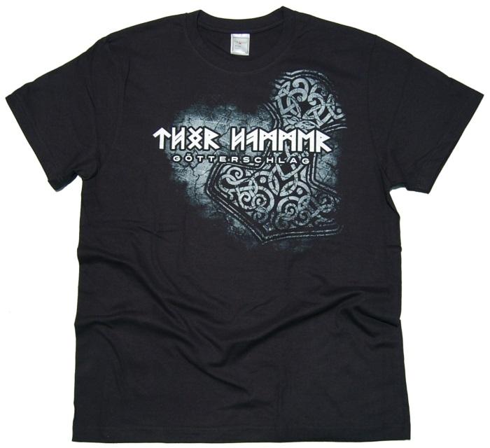 T-Shirt Thor Hammer Götterschlag