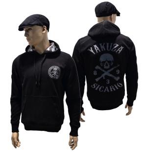 Yakuza Ink Kapuzensweatshirt Sicario HOB-11067