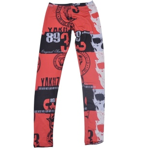 Yakuza Ink Damen Leggins Skulls