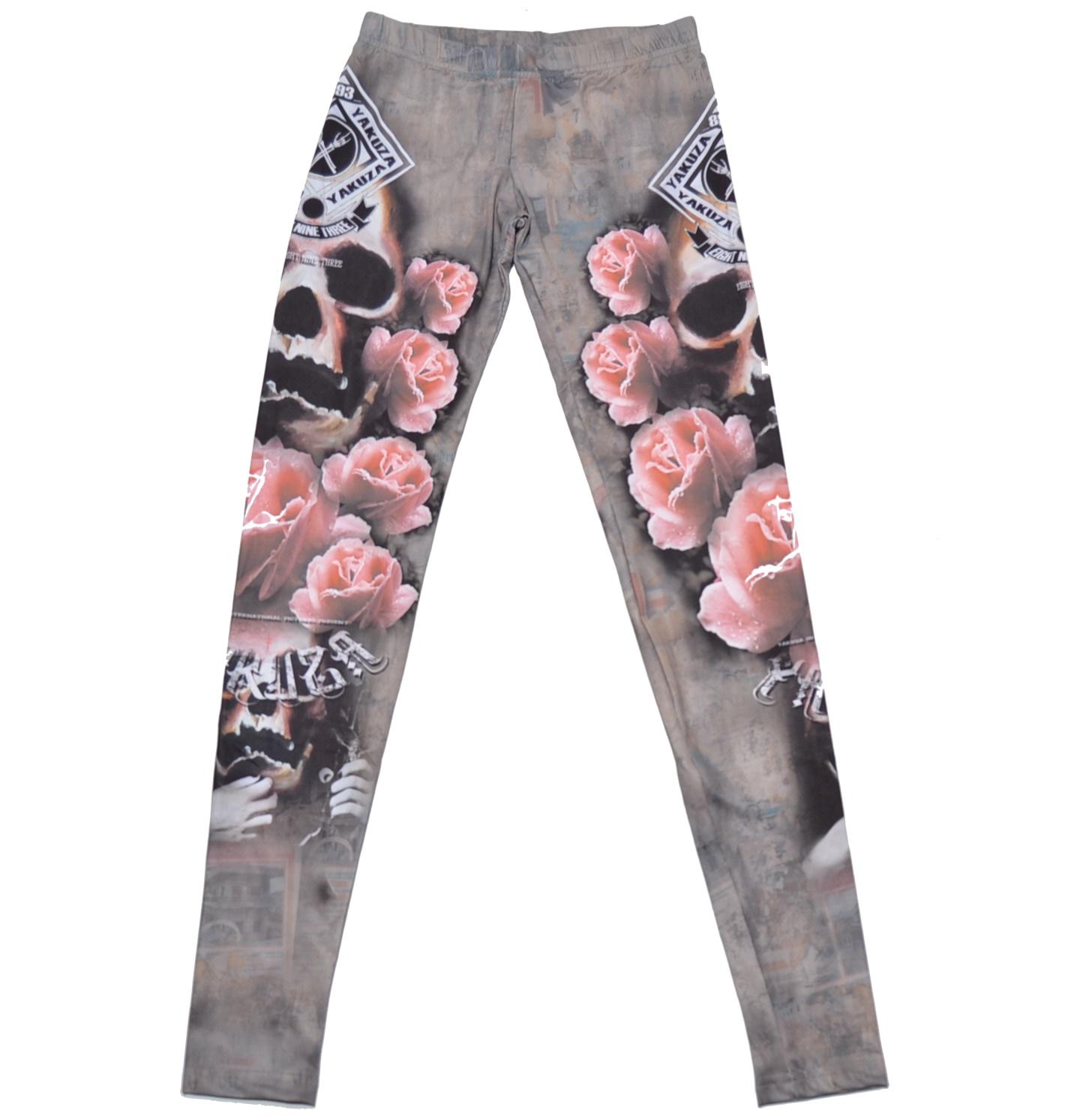 Yakuza Leggings Roses
