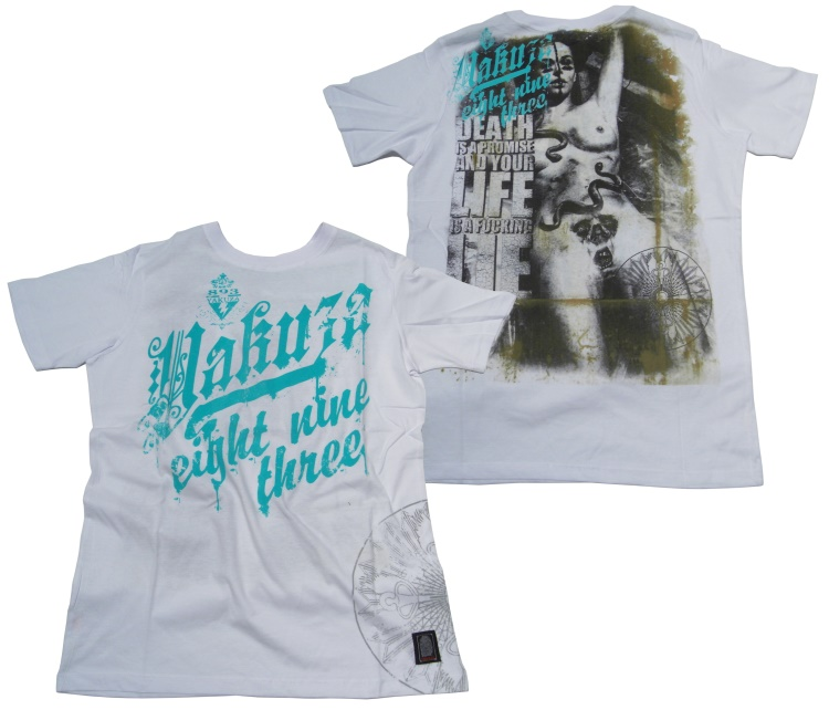 Yakuza T-Shirt Death Is A Promise
