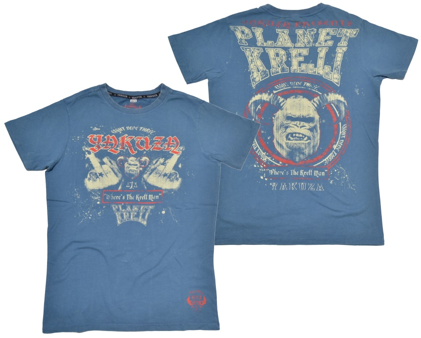 Yakuza T-Shirt Planet Krell