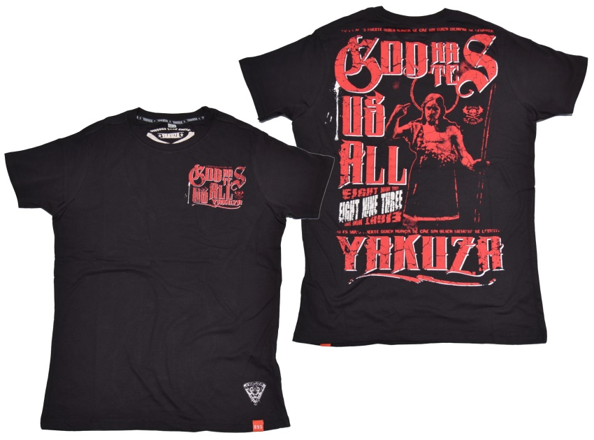 Yakuza T-Shirt God Hates Us All