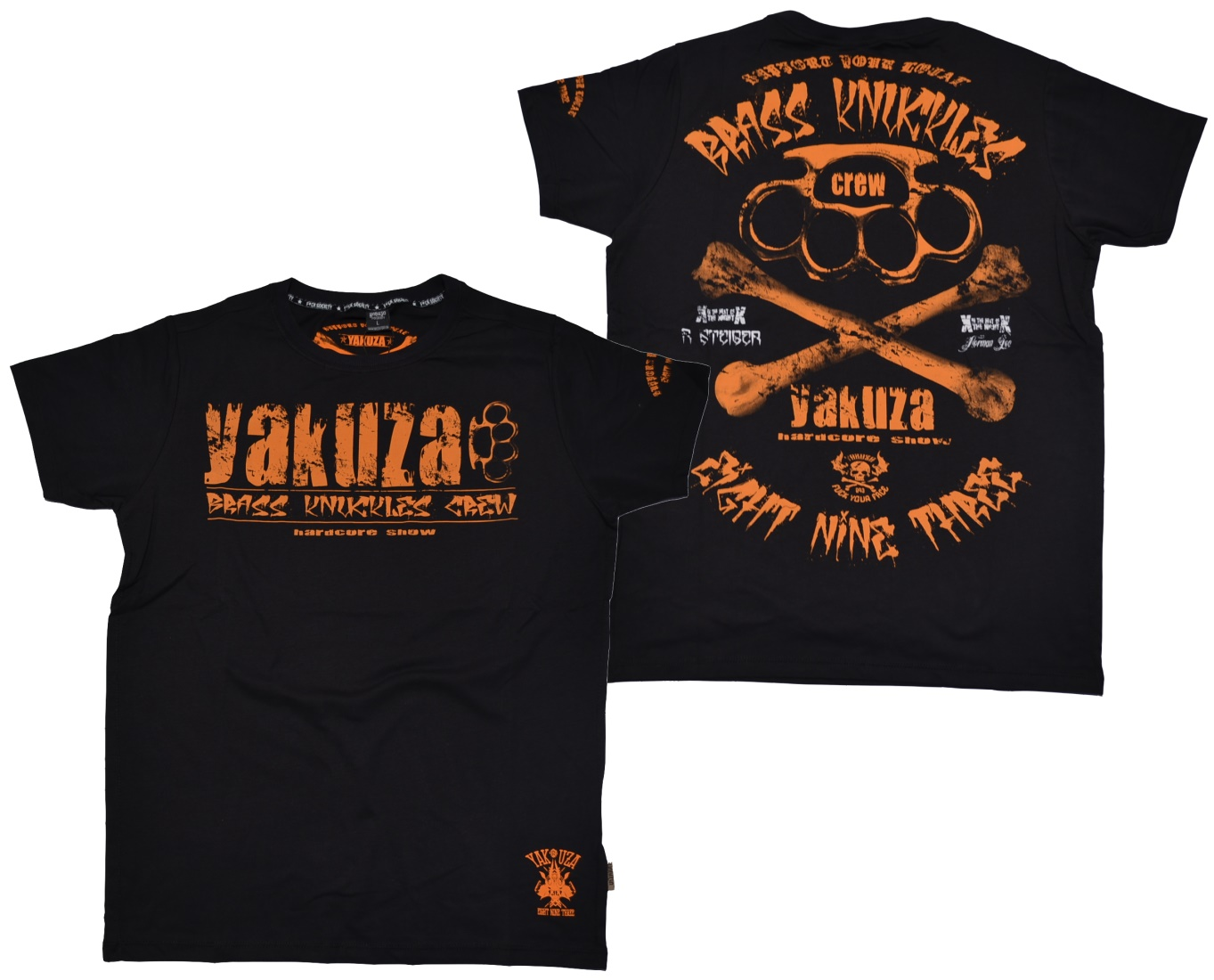 Yakuza Ink T-Shirt Bras knuckles crew