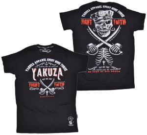 Yakuza T-Shirt Fight Faith