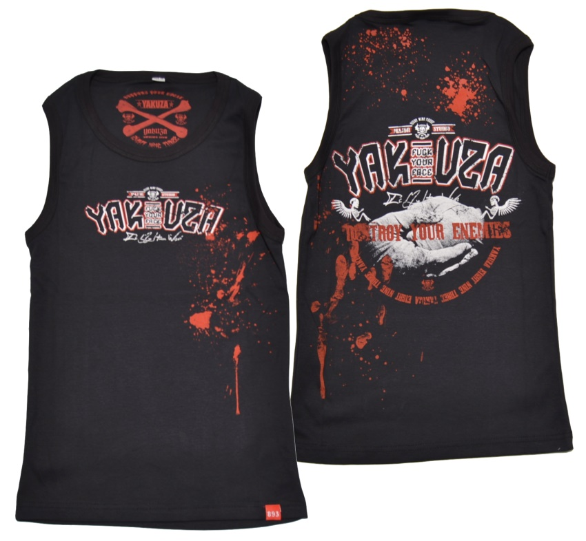 Yakuza Tanktop Destroy Your Enemies