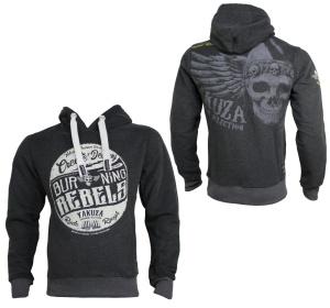 Yakuza Premium Sweatshirt Burning Rebels YPH2423