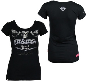 Yakuza Premium Damen T-Shirt Rude and Rough GS2136