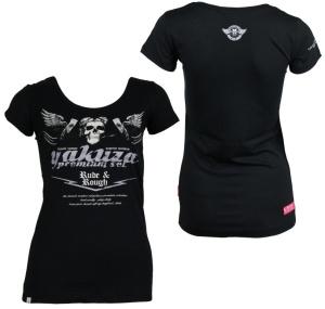 Yakuza Premium Damen T-Shirt Rude and Rough GS2136