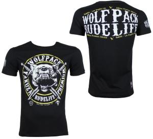 Yakuza Premium Streetwear T-Shirt Wolf YPS2305