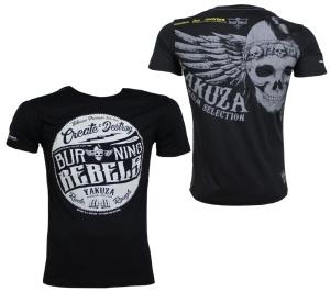 Yakuza Premium T-Shirt Flying Skull YPS2407